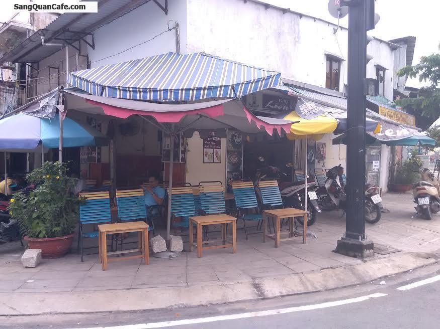 Sang quán cafe 2 mặt tiền ngay công viên