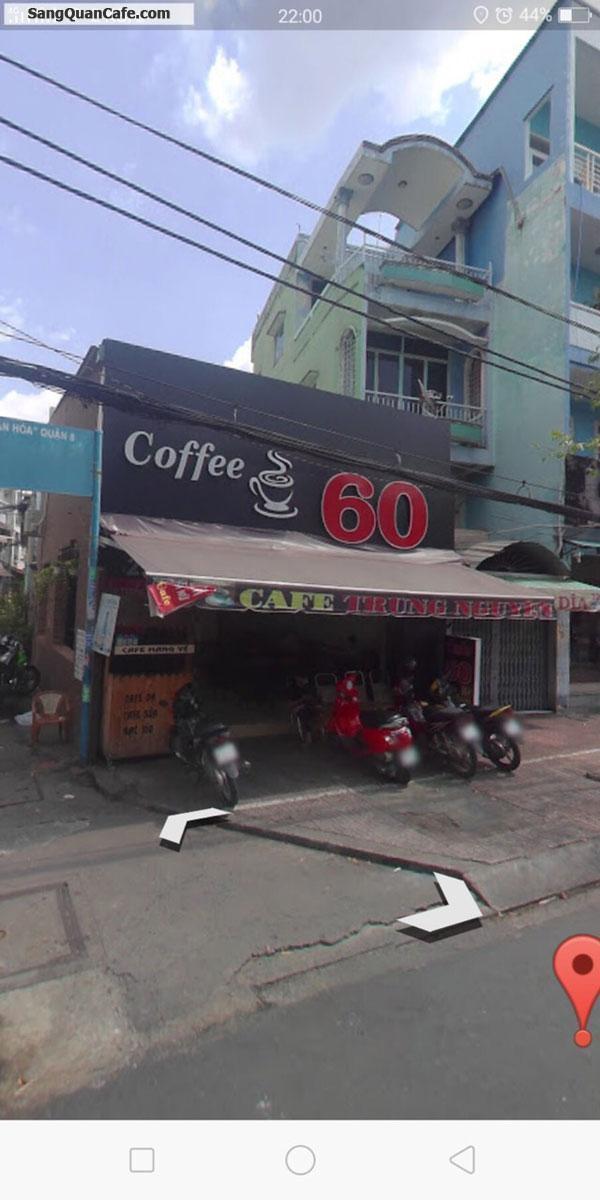 Sang quán Cafe 2 Mặt tiền quận 8