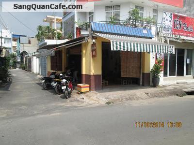 Sang quán cafe 2 mặt tiền quận 9