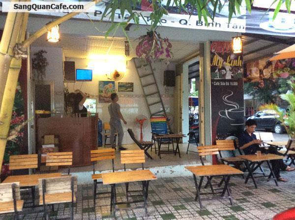 Sang quán cafe 2 mặt tiền quận Bình Tân