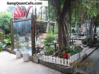 Sang quán cafe 2 mặt tiền quận Bình Thạnh