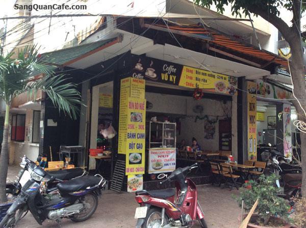 Sang quán cafe 2 mặt tiền quận Tân Bình
