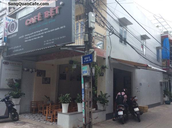 Sang quán cafe 2 mặt tiền quận Tân Phú