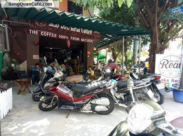 Sang quan cafe 2 mặt tiền quận Tân Phú
