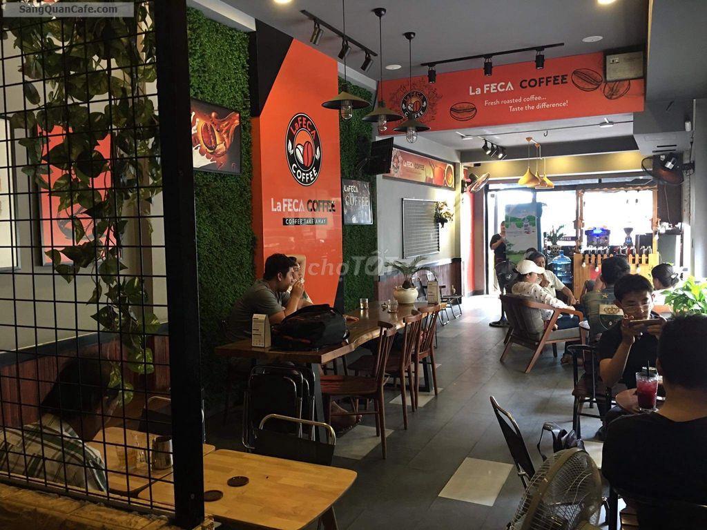 Sang quán cafe 2 mặt tiền thương hiệu LAFECA COFFEE