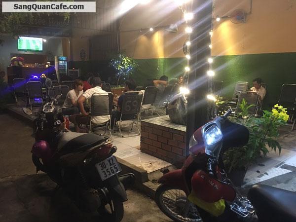 Sang quán Cafe 2 mặt tiền trên trục đừơng lớn