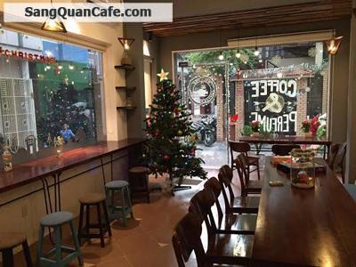 Sang quán cafe 2 mặt tiền trung tâm quận 1