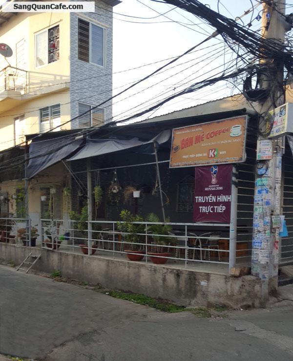 Sang quán Cafe 2 MT khu dân Quận Bình Tân