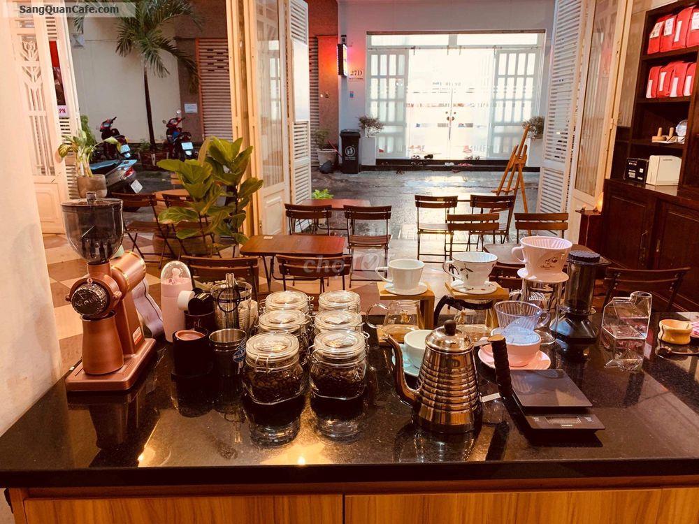 Sang quán cafe 27C Hoa Sứ, P.7, Phú Nhuận