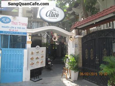 Sang quán cafe 57F đường Tú Xương, Quận 3