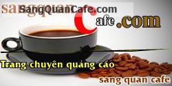 Sang Quán Cafe 7 x 25m , mặt tiền Sầm Uất