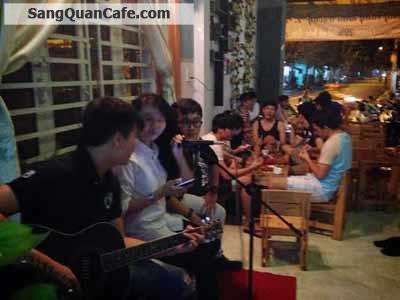 Sang quán cafe ACCOUSTIC  Q. Tân Phú