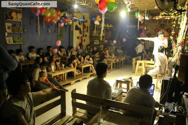 Sang quán cafe Acoustic - trà sữa