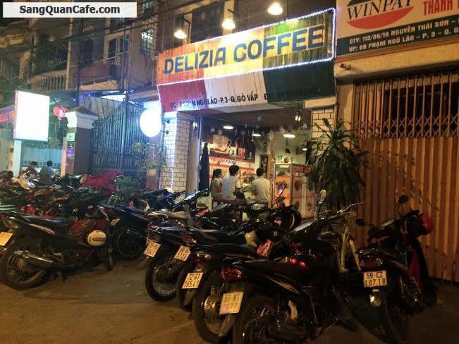 Sang quán cafe Acoutis đường Phạm Ngũ Lão