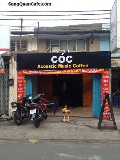 Sang quán cafe Acoutis Trần Đình Trọng, Q.11