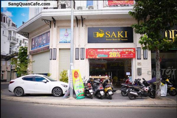 Sang quán cafe bánh ngọt đang hoạt động tốtCần sang gấp quán cafe khu Center Hills, Gò Vấp