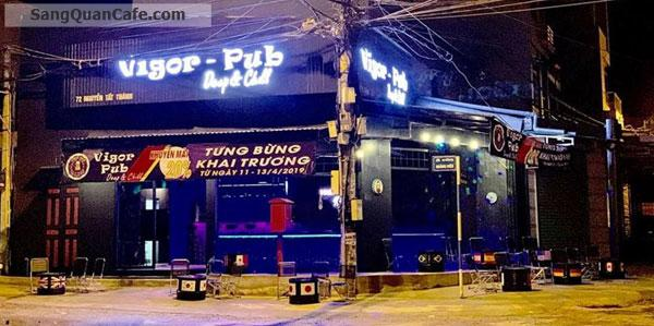 Sang quán cafe-beer-pub góc 2 mặt tiền