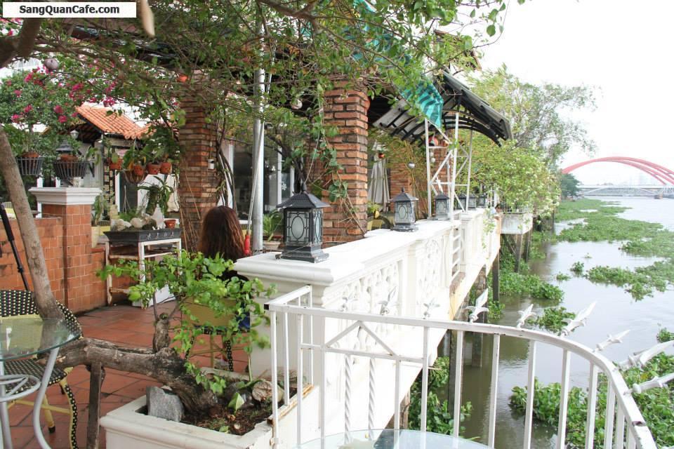 Sang quán cafe Biệt thự vườn trên sông Sài Gòn