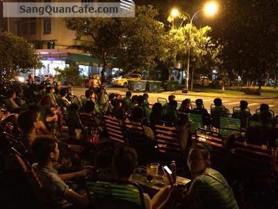 Sang quán Cafe bóng đá góc 2 mặt tiền