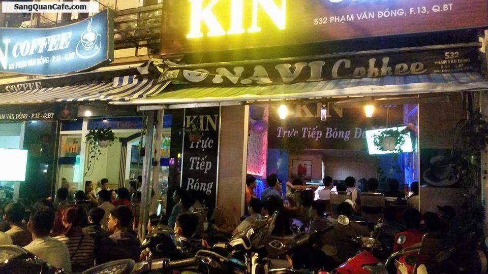 Sang quán cafe Bóng Đá K+ đường Phạm Vặn Đồng