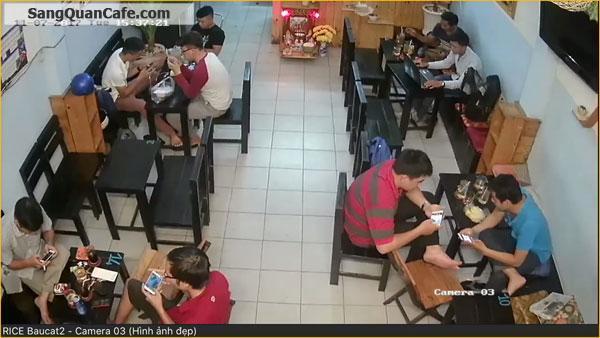 Sang quán cafe bóng đá K+ mặt tiền khu Bàu Cát