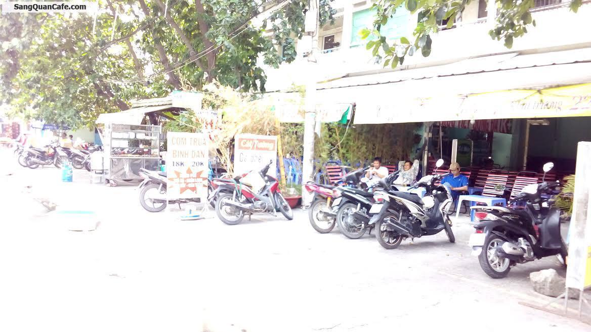 Sang quán cafe bóng đá mặt tiền đường D 2