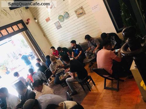 Sang quán cafe bóng đá mặt tiền đường Hoa Cúc
