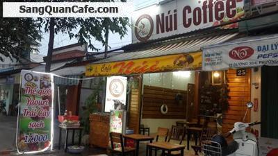 Sang quán cafe bóng đá mặt tiền ngã ba Nam Sanh