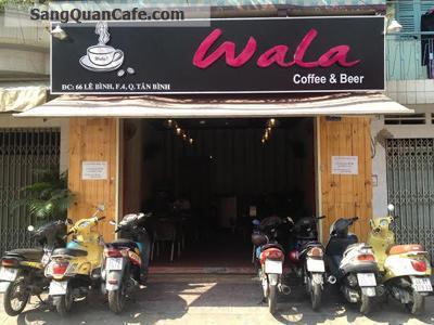 Sang Quán Cafe Bóng Đá quận Tân Bình