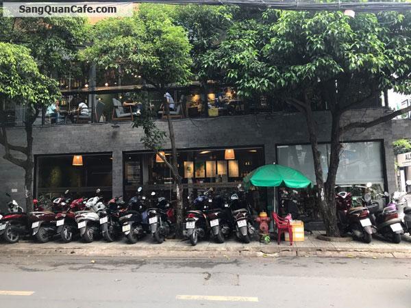 Sang quán cafe cao cấp 2 tầng, 2 mặt tiền