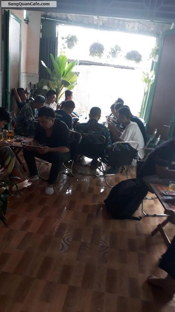 Sang quán Cafe Chiều Tím 2 mặt tiền