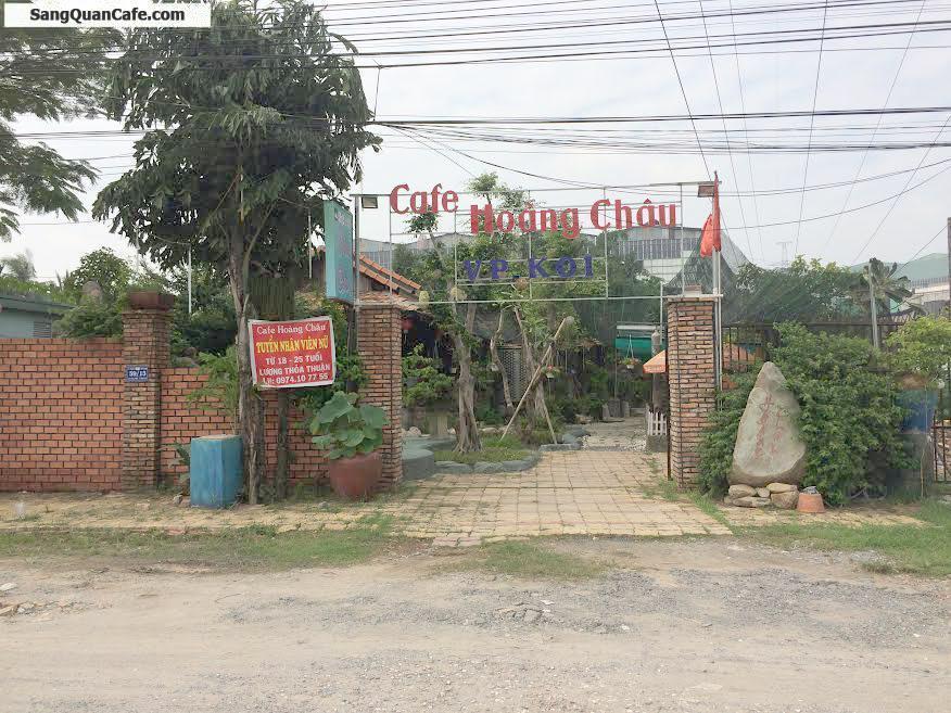 Sang quán cafe chòi võng, sân vườn khu dân cư Ehome