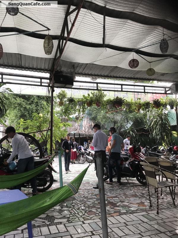 Sang quán cafe chòi võng và sân vườn