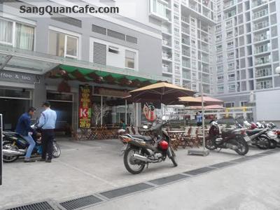 Sang quán cafe Chung cư Carillon, Quận Tân Bình.