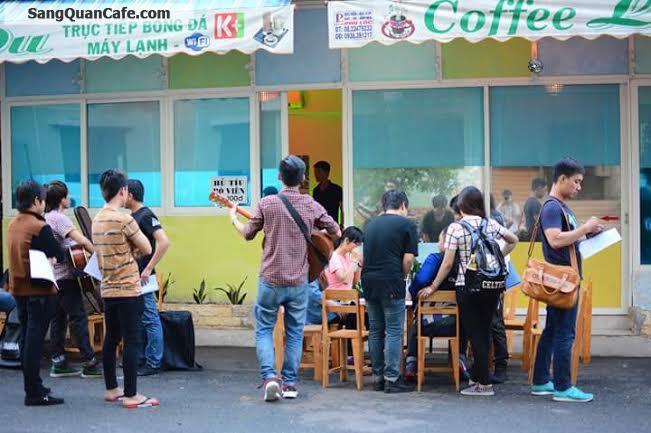 Sang quán cafe chung cư k 26