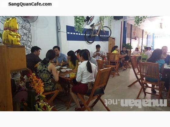Sang quán cafe cơm trưa đang hoạt động quận Bình Thanh