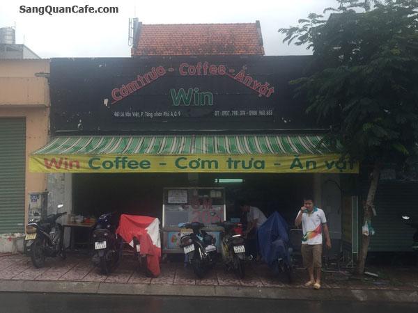 Sang quán cafe Cơm Văn Phòng đối diện viện Sư phạm Kỹ thuật