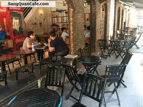Sang quán cafe cơm văn phòng góc 2 mặt tiền