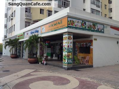 Sang quán cafe cơm văn phòng khu Phú Mỹ Hưng