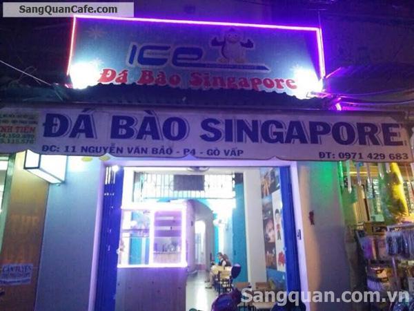 Sang quán cafe đá bào quần Gò Vấp