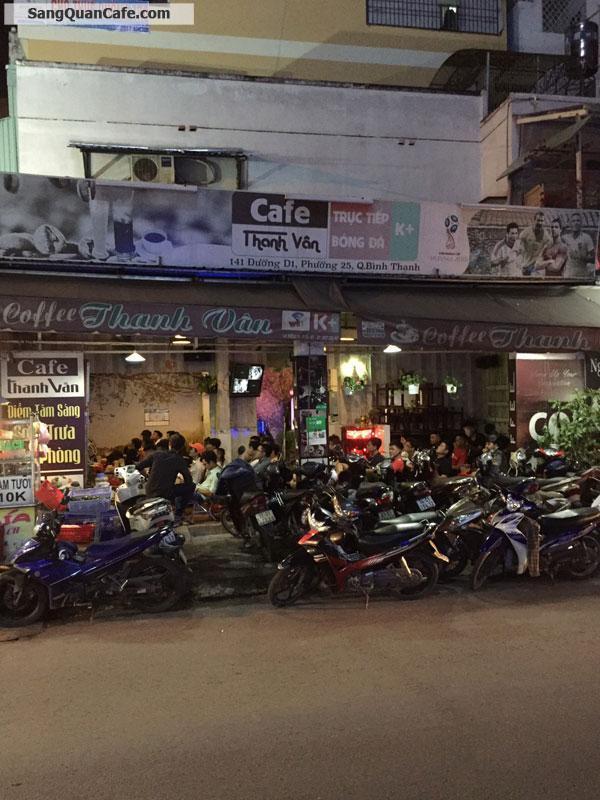 Sang quán cafe đã hoạt động 11 năm, mặt tiền đường 12m