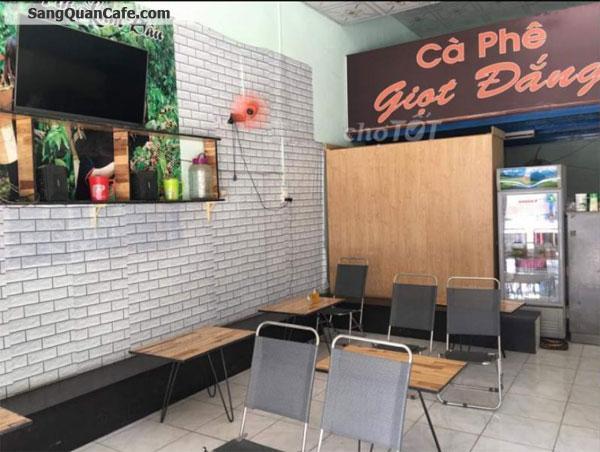 Sang quán Cafe đang kinh doanh ổn định