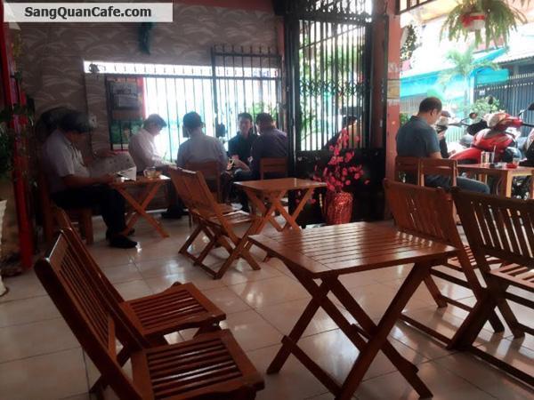 Sang quán cafe đanh hoạt động rất tốt đường Ba Vân