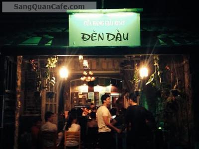 Sang quán cafe Đèn Dầu quận Gò vấp