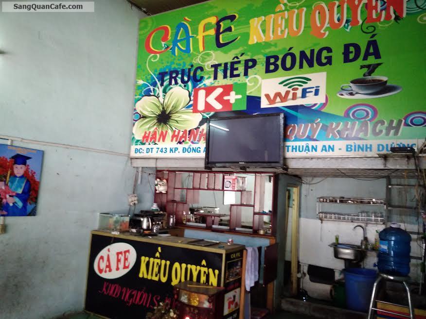 Sang quán cafe - điểm tâm Bình Dương