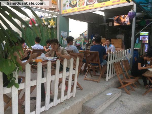 Sang quán cafe Điểm tâm Sáng, Cơm trưa 3 mặt Tiền