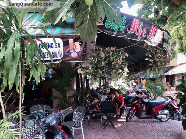 Sang quán cafe điểm tâm sáng góc 2 mặt tiền