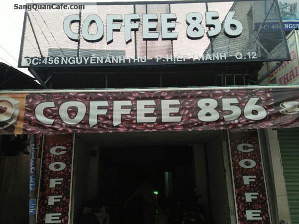 Sang quán cafe diện tích 4 x 30m