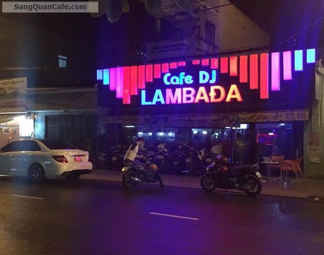 Sang quán cafe DJ  đường Lâm Văn Bền Quận 7