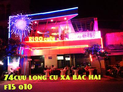 Sang quán cafe DJ khu Bắc Hải quận 10